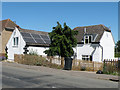 TL5074 : Pantiles and solar panels by Keith Edkins
