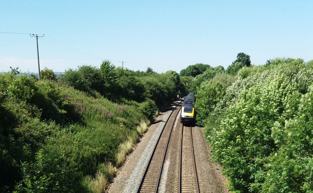 Willand: the Taunton-Exeter line