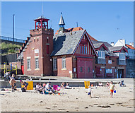 NZ3671 : Lifeboat station, Cullercoats by Julian Osley