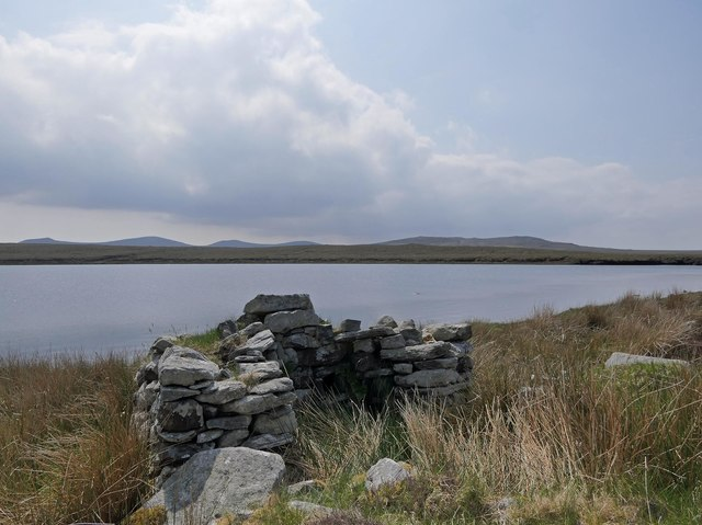 Shieling hut by Loch Ceartabhat, Isle of Lewis