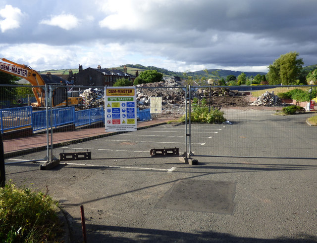 Site of Kelburn Primary School by Thomas Nugent