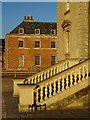 SO8844 : Balustrade and the Red Wing by Philip Halling