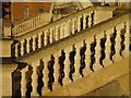 SO8844 : Balustrade on Croome Court by Philip Halling