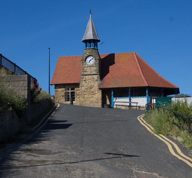 Former Lookout, Cullercoats