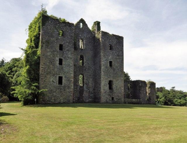 Castle Kennedy (East Elevation)