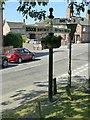 SK2825 : Fingerpost at Bretby Lane, Newton Solney by Alan Murray-Rust