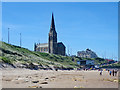 NZ3670 : St George's Church, Cullercoats by Julian Osley