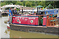 SP5365 : 'Sculptor' at Braunston Historic Narrowboat Rally by Stephen McKay