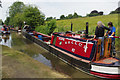 SP5465 :  'Sculptor' at Braunston Historic Narrowboat Rally by Stephen McKay