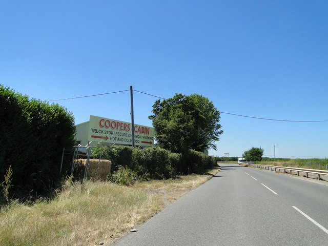 Cooper's Cabin truckstop on the old Newmarket Road