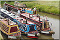 SP5465 : Historic narrowboats at Braunston by Stephen McKay
