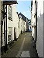 SX2553 : Lower Chapel Street towards Buller Street, East Looe by Jaggery