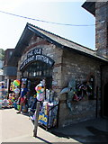 SX2553 : Old Lifeboat Station (1866-1930), East Looe by Jaggery