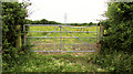 ST1574 : Gate on Cock Hill by Derek Harper