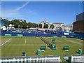 TV6198 : Devonshire Park - court 2 by Paul Gillett