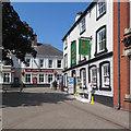 SK4641 : Ilkeston: two Market Place pubs by John Sutton