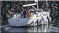 J5082 : Yacht 'Mirandae' at Bangor by Rossographer