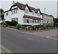 SY3392 : White house on a Lyme Regis corner by Jaggery