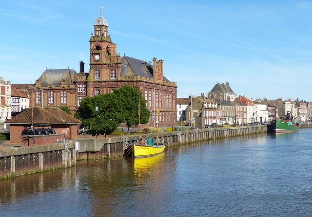 River Yare in Great Yarmouth