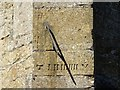 SP1523 : Sundial on Upper Slaughter church by Philip Halling