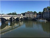 SN1745 : Cardigan bridge by Alan Hughes