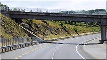 S5510 : Bridge over the N25 near Kilmeadan by David Dixon
