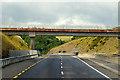 S5409 : N25, Tramore Crossroad Bridge by David Dixon