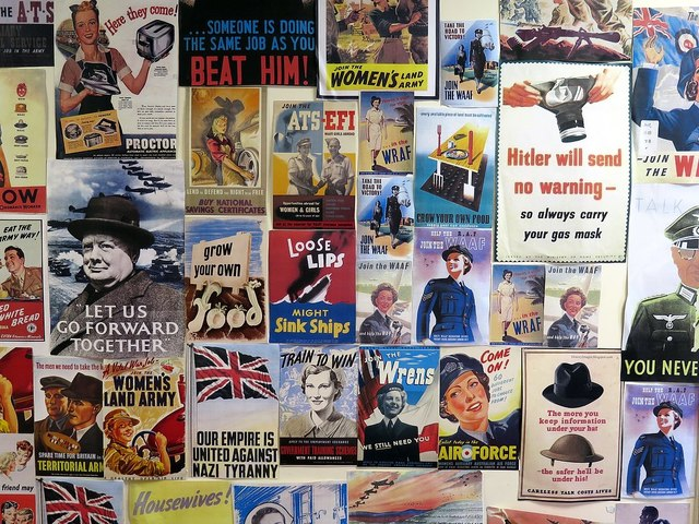 World War 2 posters, Springwell Community Centre
