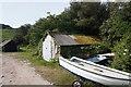 SV9112 : Coastal path at Pendrathen Quay by Ian S