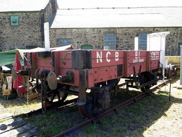 Kibblesworth Drift Bogie, Bowes Railway Museum