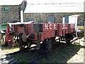 NZ2858 : Kibblesworth Drift Bogie, Bowes Railway Museum by Andrew Curtis