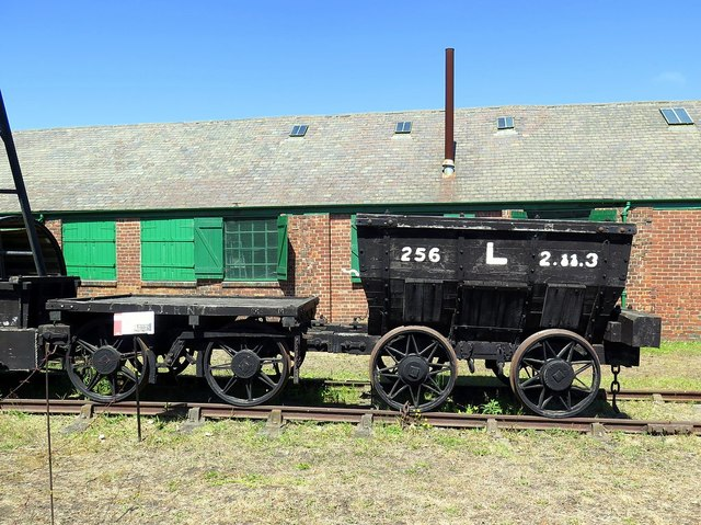 Chaldron Wagon, Bowes Railway Museum