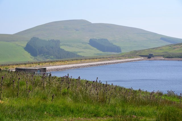 West Water Reservoir and Mendick Hill