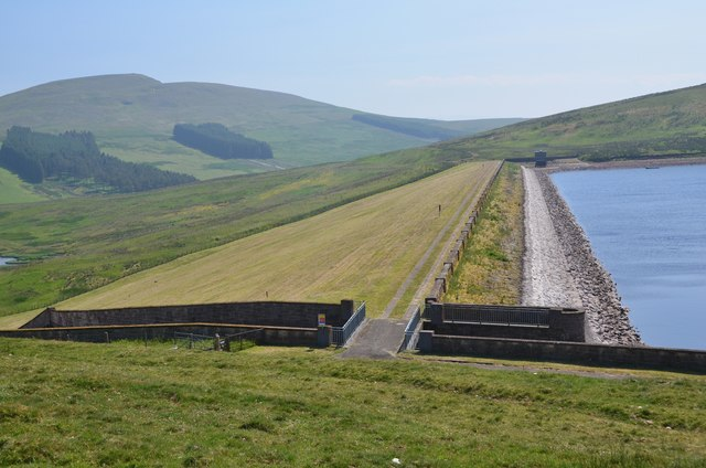 Dam at West Water Reservoir