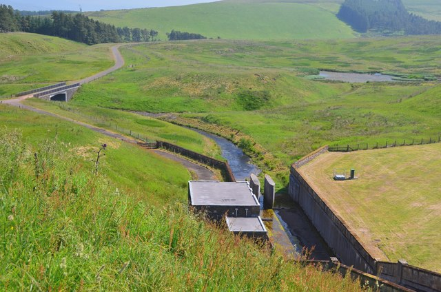 Outflow at West Water Reservoir