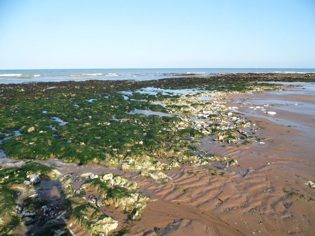 Rocks at Stone Bay, Broadstairs