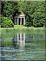 SU8394 : Daphne's Temple in West Wycombe Park by Steve Daniels