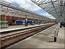 NS2982 : The lovely interior of Helensburgh Central Station by Roger Cornfoot