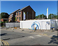 SK5738 : Building new houses on Arkwright Walk by John Sutton