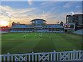 SK5838 : Trent Bridge: cricket at twilight : Week 26