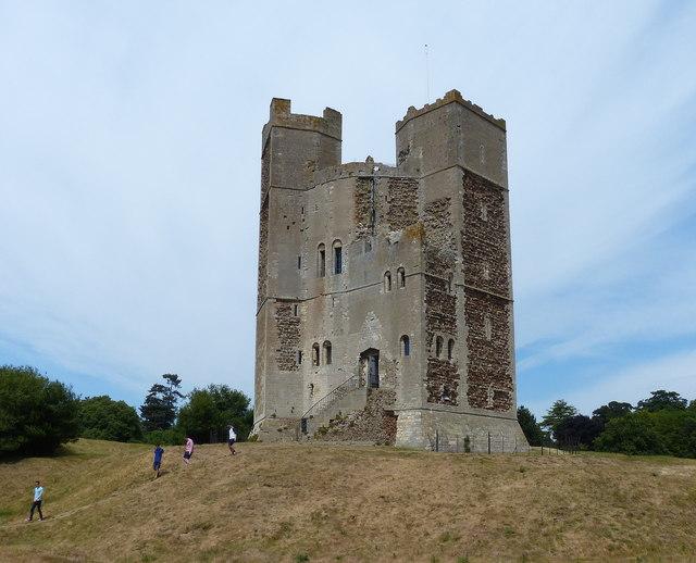 Orford Castle, Suffolk