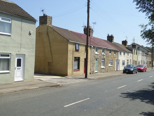 Terraced houses at Ramshaw