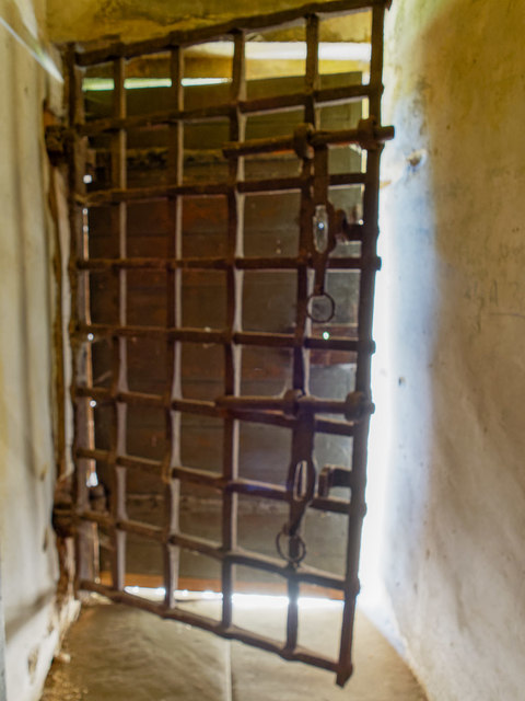 Yett Coxton Tower Doorway