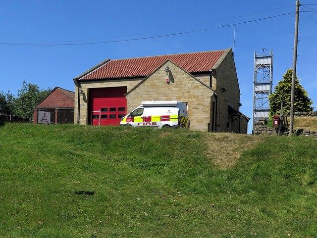 Danby Fire Station, Ainthorpe Lane
