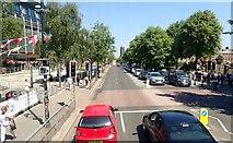 J3372 : View North along University Road, Belfast by Eric Jones