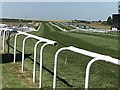 TL6161 : A view along the July Course at Newmarket by Richard Humphrey