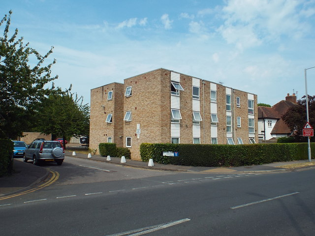 Block of flats on Kenley Road, near Norbiton