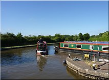 SP0272 : Moving boats at Alvechurch Boat Centre by Jeff Gogarty