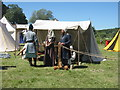 NT0077 : Living History at Linlithgow Peel by M J Richardson