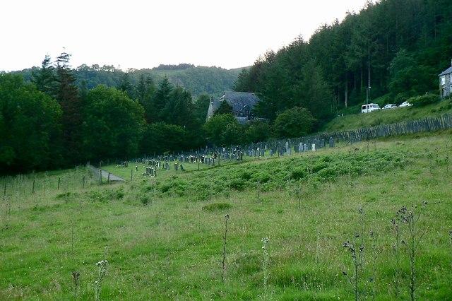 Cemetery off Maes Yr Ordaf